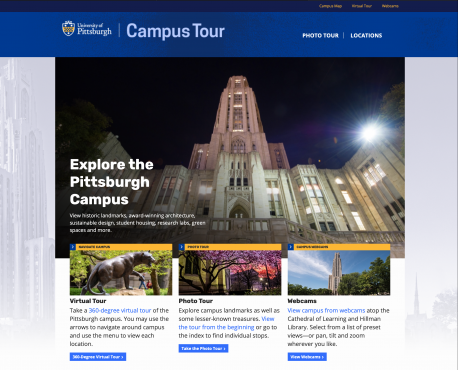 Campus Tour Home Page