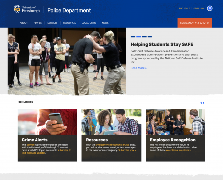 Police Department Home Page