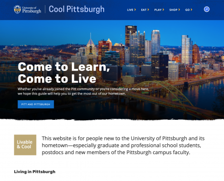 Cool Pittsburgh Home Page