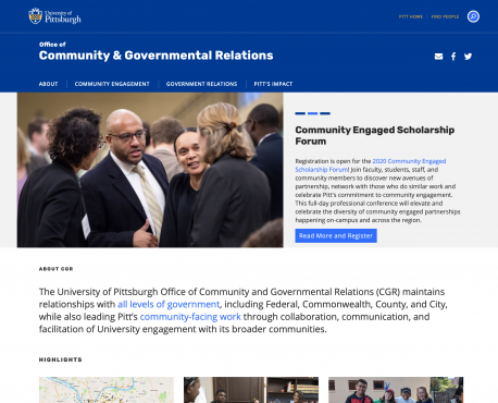 Office of Community & Governmental Relations Home Page