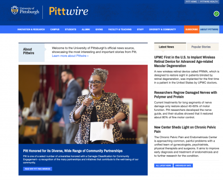 Pittwire Home Page