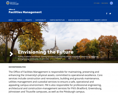 Office of Facilities Management Home Page