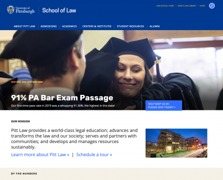 School of Law Home Page