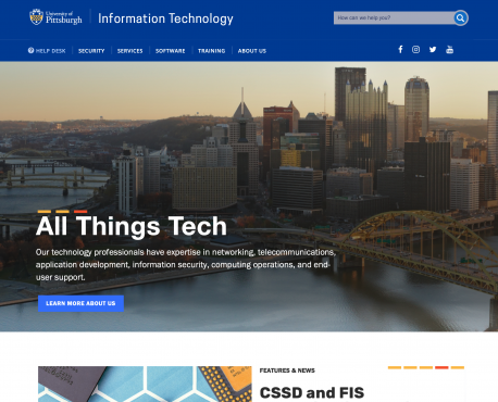 Information Technology Home Page